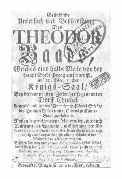 Scrinci, Johann Anton Joseph 1739.