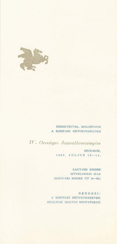 IV. Országos Szavalóverseny