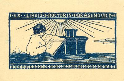 Ex libris Doctoris I. Drasenovich - 	Balatoni Múzeum, CC BY-NC-ND