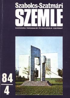 Szabolcs-Szatmári Szemle 1984 4