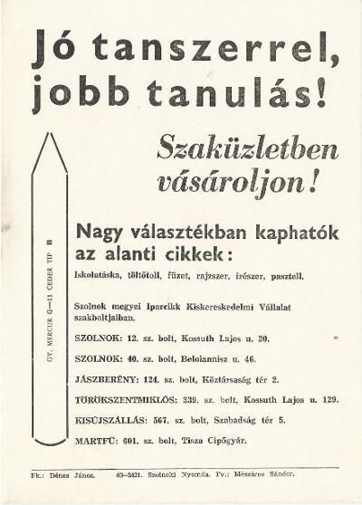 09dbd0088c Magyar Nemzeti Digitális Archívum • Jó tanszerrel, jobb tanulás!