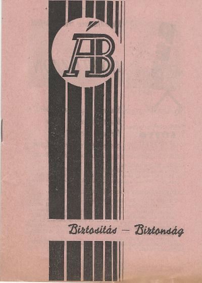 Az Állami Biztosító tájékoztató füzete