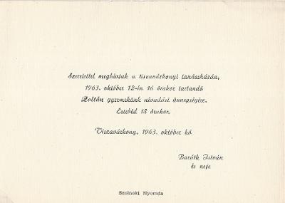 Baráth Zoltán névadási ünnepsége