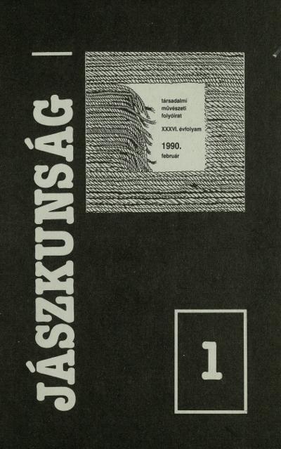 Jászkunság - 1990
