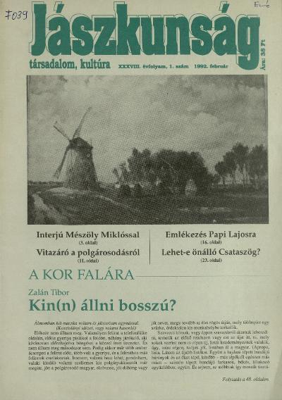 Jászkunság 1992