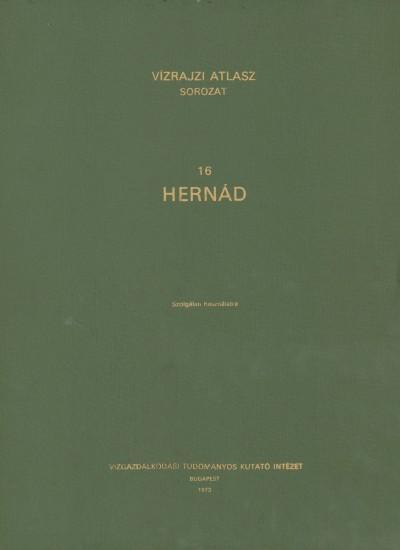 Vízrajzi Atlasz sorozat 16. Hernád