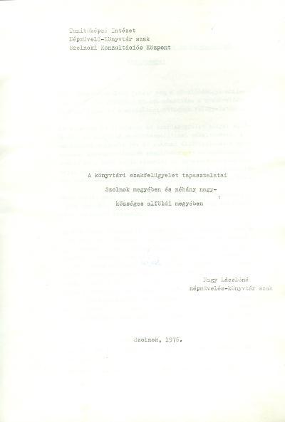 Nagy Lászlóné 1976