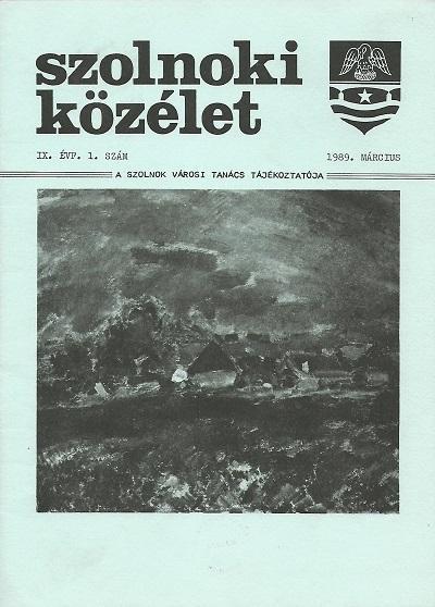 Lead Szolnoki közélet, 1989. március