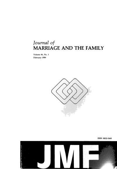 Journal of marriage and the family