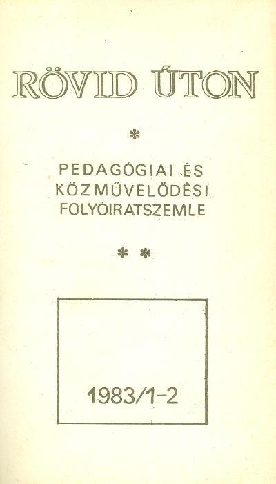 Rövid úton 1983