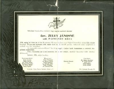 Zeley Jánosné