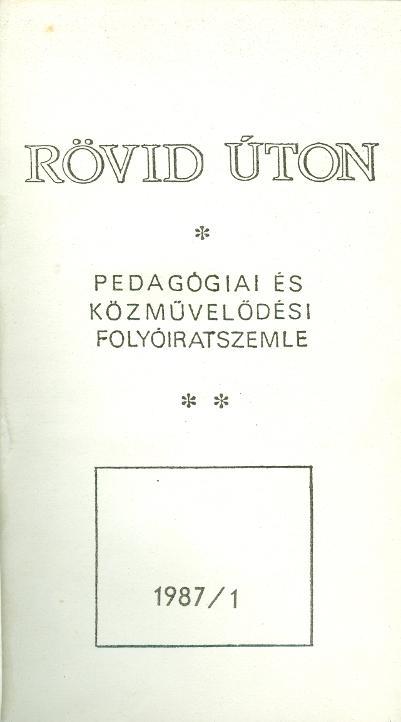 Rövid úton 1987