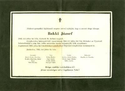 Bakki József