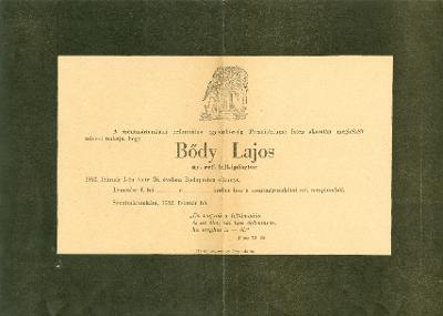 Bődy Lajos