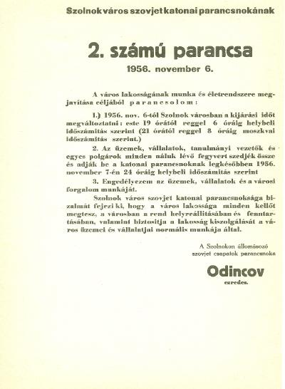 Szolnok 1956