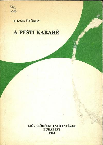 A Pesti kabaré