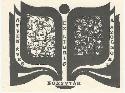 50 éves a Szolnoki Könyvtár