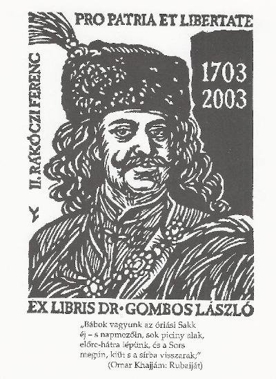 II. Rákóczi Ferenc 1703-2003. A szabadságharc 300. évfordulója