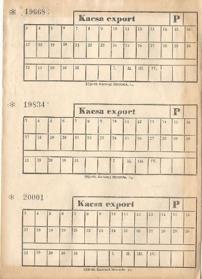 Kacsa export
