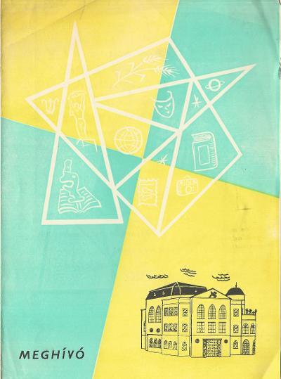 Karcagi Déryné Művelődési Ház 1964/65-ös évadának tájékoztatója