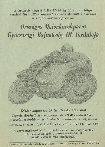 Országos motorkerékpáros Gyorsasági Bajnokság III. fordulója
