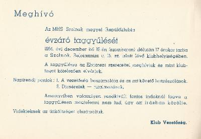 Magyar Honvédelmi Sportszövetség évzáró taggyűlése
