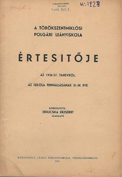 Lead Tör. Polg. 1936-37