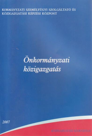 Közigazgatási Szakvizsga - Önkormányzati Közigazgatás