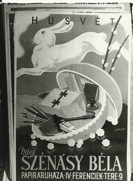 Húsvét - Vitéz Szénásy Bélánál, Budapest, 1940 - Magyar Kereskedelmi és Vendéglátóipari Múzeum, CC BY-NC-ND