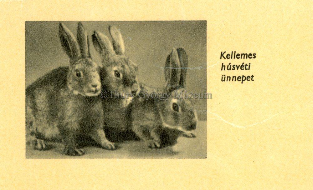 Kellemes húsvéti ünnepet - Thúry György Múzeum, CC BY-NC-ND