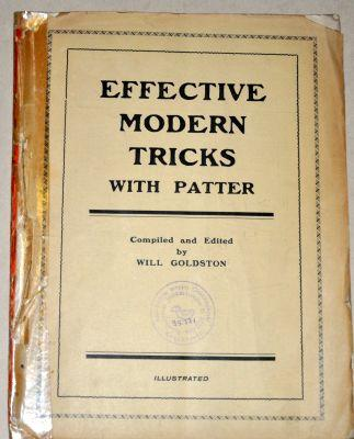 Effective Modern Tricks with Patter; The Magazine of Magic