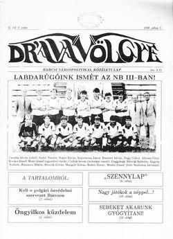 Dráva Völgye, II. évf. 5. szám 1990. július 5.
