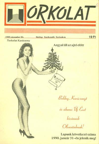 Torkolat 1989 címlapja