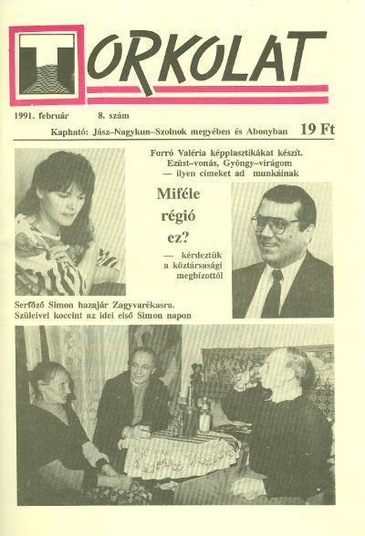 Torkolat 1991 címlapja