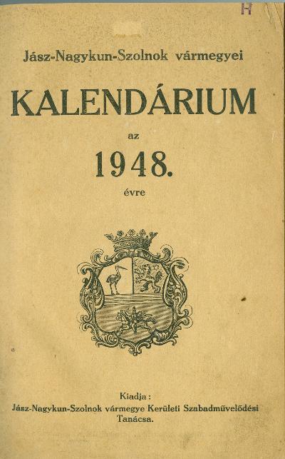kalendárium 1948