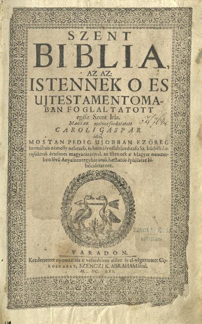 Biblia 1661