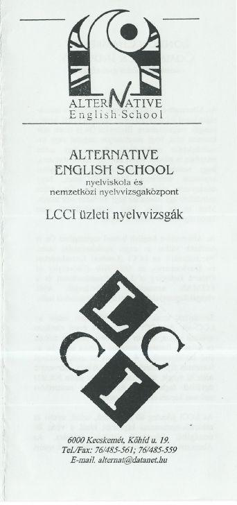 Alternative English School