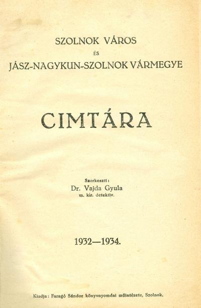 szolnok címtára 1934