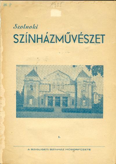 Szolnoki Színházművészet 1955