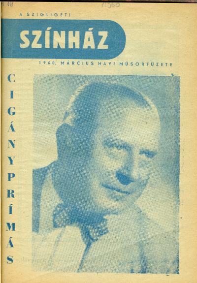 Szolnoki Színházművészet 1960
