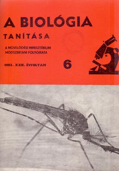 A biológia tanítása 1983. 6. szám