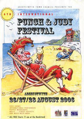 International Punch and Judy Festival - Aberystwyth 2006