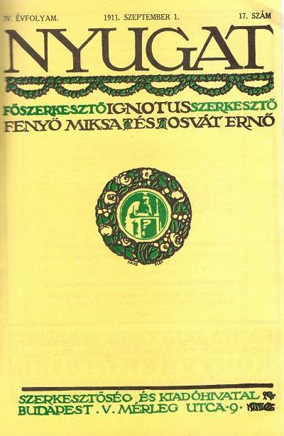 Nyugat 1911.09.01