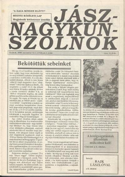 Jász-Nagykun-Szolnok 1989