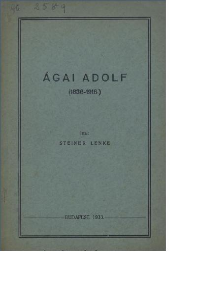 Ágai Adolf