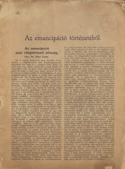 Az_emancipáció_történetéből