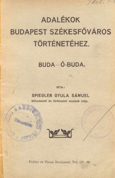 Adalekok_Budapest_Szekesfovaros_tortenetehez_I_Lead