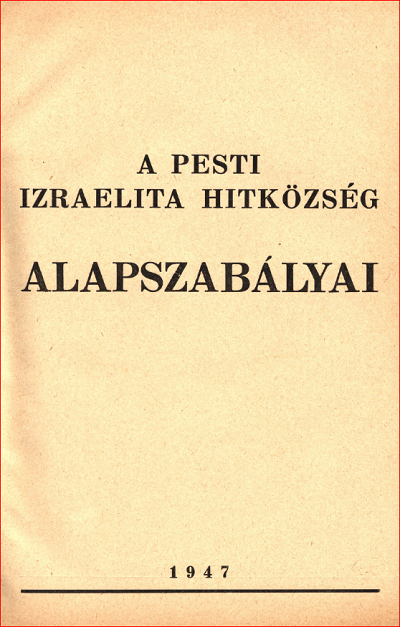 Alapszabályok_1947_lead