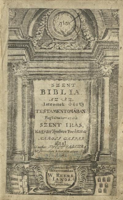 Biblia 1737