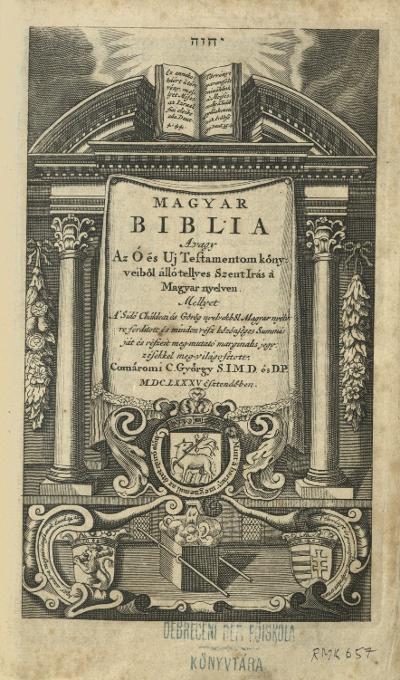 Biblia 1685-1717